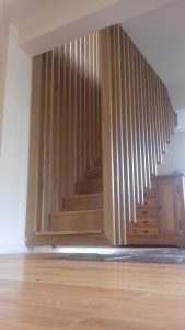 Hanging Staircase - Bowden Consulting Engineers